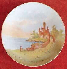 porcelaine de Limoges assiette décorée M.Redon