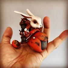 Resin Figure Kit WF2018 Rabbit with Moto Unpainted Garage Resin Model Kit