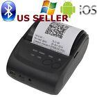 US SHIP Mini 58mm Bluetooth Wireless Mobile POS 5802DD Thermal Receipt Printer