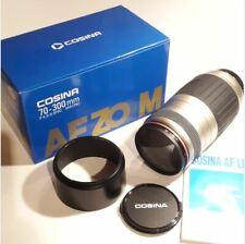 Cosina 70-300 mm Objektiv für Spiegelreflexkamera Minolta AF Zoom Autofocus