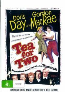 Tea For Two DVD Doris Day New and Sealed Australia
