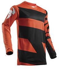 Thor Youth ATV Motocross Jersey S8Y Pulse Level Black/Orange X-Large