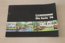 177981) TE Wohnwagen - King Sprinter Weltbummler - Prospekt 1974