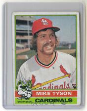 1976 Topps Regular - Mike Tyson - St. Louis Cardinals - 86 - Good