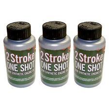3 X Dos (2) tiempos aceite One Shot 50:1 Mix Para McCulloch Cortadora Desbrozadora