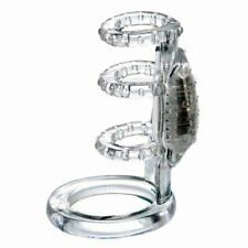 Jelly Vibrating Cock Cage Penis Enhancer Ring Sleeve Sex-toys for Men Couples
