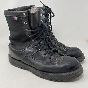 "DANNER 21210 ACADIA 8"" Men's 10 Black Gore Tex Vibram Combat Boots Made In USA"