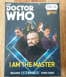 """Warlord Games Dr Who """"Iam The Master"""" 5 metal figures NEW/SEALED"""