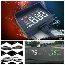 HUD A100S Car LED Head up Digital Display OBD2 Driving Computer Speed Projector
