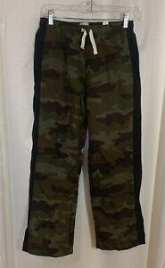 Children's Place Camo Pants Boy's XL 14 Pull On Nylon Elastic Waistband B12