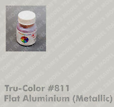 811 Tru-Color Paint, Flat  Aluminium (Metallic)