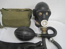Russiche Gasmaske Tasche Gummi Latex Fetisch Pumpe Poppers Beatmungsbeutel ABC
