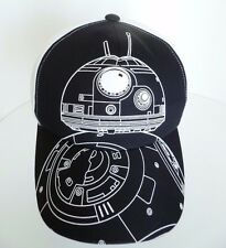 newest 4445c a3c4f Star Wars BB8 Force Awakens Exclusive Collection Cineplex Blk Wht Hat Cap  Disney