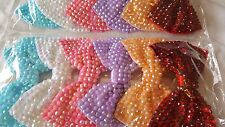 Joblot 12pcs Large Bow Design Sparkly hairclips hairgrips NEW wholesale Lot 1