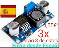 3x Convertidor DC 3A 1,25-32V Regulable LM2596 STEPDown Modulo Fuente Arduino A