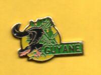 Pin's lapel pin pins TOURISME Région GUYANE CAÏMAN crocodile Alligator Amazonie