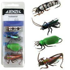 3,50 EUR//Stk. Jenzi Insekten-Imitat Fliegenfischen Set XL2 4 Stück