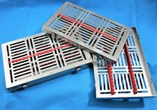 1 GERMAN DENTAL AUTOCLAVE STERILIZATION CASSETTE RACK BOX TRAY FOR 20 INSTRUMENT