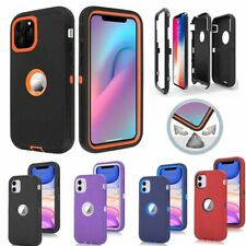 Fr Apple iPhone 12 11 Pro Max Case Hybrid Shockproof Armor Protective Hard Cover