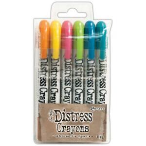 Tim Holtz Distress Crayon Set - Set #1, DBK47902