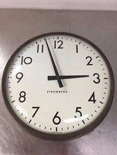 "Stromberg Autoset Slave Clock 14.5"" Mite Corporation"