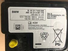 BMW Original Batterie Battery 105 Ah 950 A 12 V 61217633698 61219381779