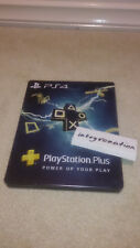 Playstation Plus steelbook CASE ONLY for PS4 G2 Metal tin card subscription DLC
