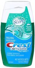 Crest Plus Scope Toothpaste GEL Minty Fresh 4.6oz 037000385905s301