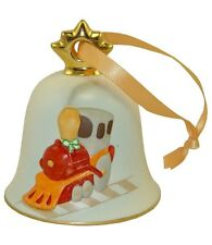Goebel 2012 Christmas Bell Ornament Nib Train 107342 New In Box