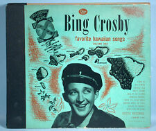 1946 Bing Crosby Favorite Hawaiian Songs 78rpm Record Album Set Decca Vol. 1