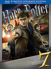 Harry Potter and the Deathly Hallows 1/2 Ultimate Edition Blu-ray (Read Desc.)