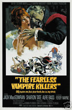 The fearless vampire killers cult horror movie poster print #2