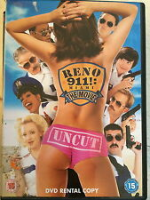 PATTON OSWALT PAUL RUDD Reno 911 Miami ~ 2007 CULTO policías Comedia GB DVD