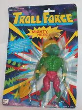 1990's Troll Force Super Hero Action Figure Carded He-Man KO Mighty Hulk