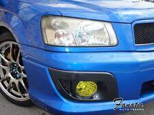 03-05 Subaru Forester Fog light Rally JDM Yellow Overlays Tint Vinyl Film STi