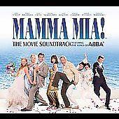 Mamma Mia! The Movie Soundtrack (CD, 2008) LN, OOP, Complete! ABBA, DECCA Streep