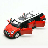 BMW Mini Extended Limousine 1:36 Model Car Metal Diecast Toy Kids Boys Gift Red