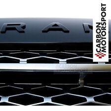 Range Rover Lettre Noir Brillant Sport L322 405 Badge Coffre Capot Evoque