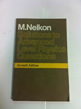 Solutions To Advanced Level Physics Questions - SI Units, 1986, Pub: Heinemann