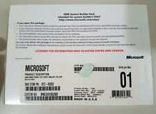 Microsoft Windows Home Premium 7 SP 1 64 OEM System Builder Pack W/ Product Key