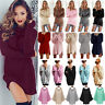 Women's Long Sleeve Sweater Knitted Blouse Pullover Jumper Casual Knitwear Tops