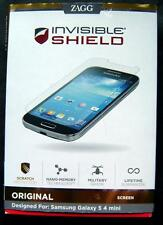 Zagg Invisible Shield Original for Samsung Galaxy S 4 Mini In Box