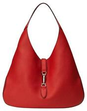 NEW Gucci Jackie Soft Leather Hobo Bag, Red $2990.00 + TAX