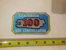 Us Navy Uss Constellation Cv 64 Centurion 100 Patch - free ship