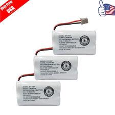 3X Cordless Phone Battery For Panasonic HHR-P506 Uniden BT-1007 BT-904 USA