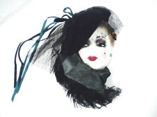 Unique Creations Signed & Numbered Lady Face Mask Wall Decoration