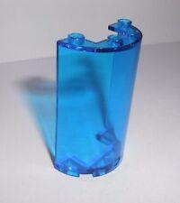 Lego (85941) halber Zylnder 2x4x5, in transparent blau aus 5974 5985 5973 5979