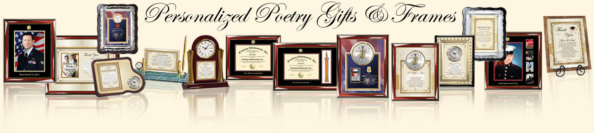 Diploma Frame & Poetry Gift Clocks
