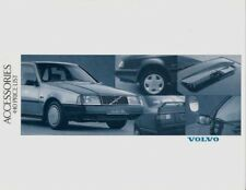 Volvo 440 Accessories Prices & Part Numbers 1989-92 UK Market Foldout Brochure