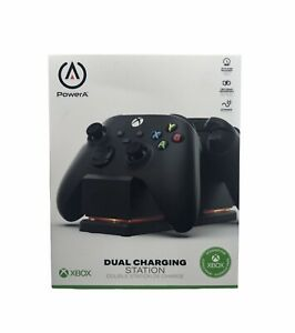 NEW PowerA Dual Charging Station for Xbox Series X S - Black 1519296-01